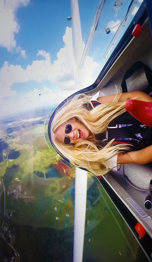 Glider Acro Ride Sasha Marvin